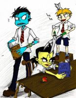 A new haircut, my dear Periwinkle Neo Cortex ? by Loukho