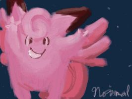 Clefable is Best Normal - Speedpaint by DecepticonFlamewar