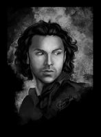 Aidan Turner by Haddrian