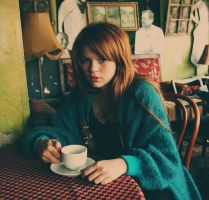 retro indie old and tea by Squierr