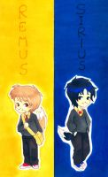 Remus and Sirius_HP by airisunokaori