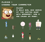Regular Show Characters by radstylix