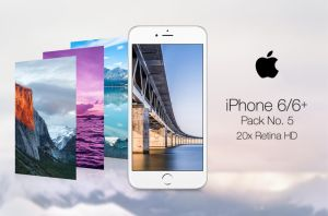 Retina Wallpaper Pack No. 5 - iPhone 6 ALL by pddeluxe