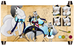 Silver Fox full sheet for WhiteShadowItora by azume-adopts