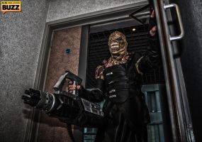 Nemesis - Resident Evil by Paper-Cube