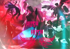 Hush, Hush Wallpaper- 2 by DawnOfTheFeline