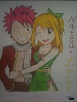 Natsu and Lucy by Avato-chan
