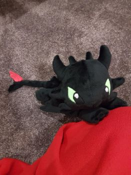 Toothless Plushie by Seamarie