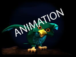 Owl Animation 1 by lisarts