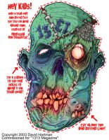 MASK OF THE DEAD by Hartman by sideshowmonkey