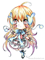 Chibi lolita winter by 3bcrane