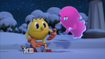 Pinky and Pac-Man by Ilovesonicandfriend