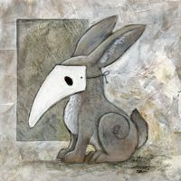 Rabbit Mask 2 by ursulav