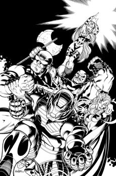 Onslaught Cover. by DexterVines