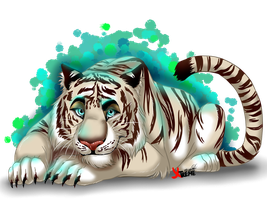White Tiger by Diego32Tiger