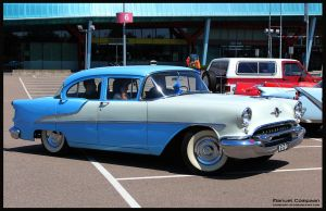 1955 Oldsmobile 88 by compaan-art