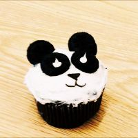 Panda Cupcake by blackLilly1