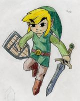 Link from Four Swords 00001 by frostdemn