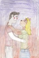 Boris and Margeaux Embrace by Casey387