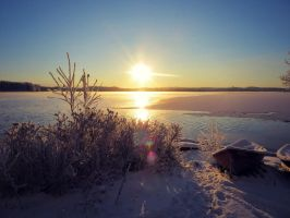 Too cold for boating by PurpleScarecrow