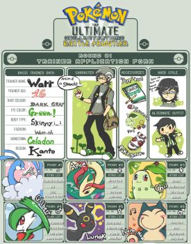 PKM BF :Sign up by Watteri91