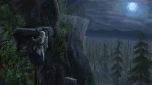 ACIII Connor Rock climbing by SeniorJ