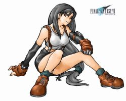 Tifa Lockhart Colored Version by pika-pika-chuu