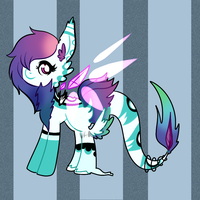 Pony adoptable+closed+ by Megal0Vania