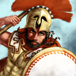 Hoplite Portrait by LordGood