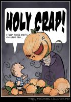 Happy Halloween Linus Van Pelt by CitizenWolfie