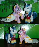 The Happy Couple Shining Armor Princess Cadance by TianaTinuviel