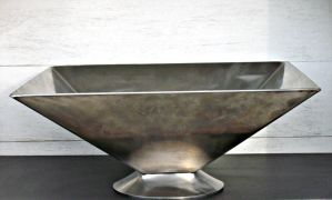 Inverted Pyramid Sink by ou8nrtist2