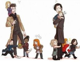 How the 10th and 11th Doctor Truly Feel by akari-61