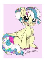 Confetti Cake by onlyahalfbreed