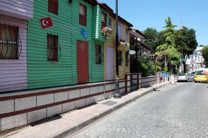 Istanbul - Old Town near Hagia Sophia by puppeteerHH