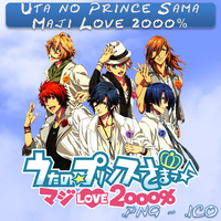 Uta no Prince Sama Maji Love 2000% ICO And PNG Fol by bryan1213