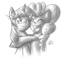 Hugs by leadhooves