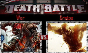 War vs Kratos by SonicPal