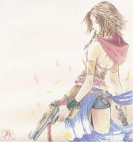 Yuna Final Fantasy X-2 by Prikai