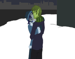 bbrae- Christmas Kiss by TallestSky