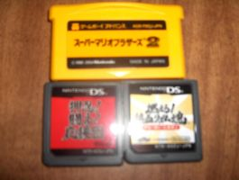 My Japanese Portable Games by mariomaster88