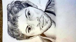 Misha Collins Portrait by MapleAndAnimeCrazy