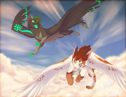 .:Soaring Hearts:. by PirateGirl-Tetra