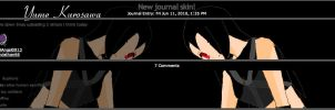 Yume Kurasawa Journal Skin by LilAngel0913