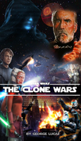 The Clone Wars poster by DarthDestruktor