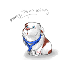 + Mommy It's On Wrong + by krizpie