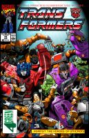Transformers issue 74 re-color by Fourgreen