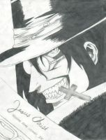 Hellsing Drawing Finished by garbagepicker