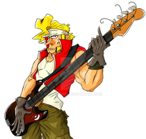 Marco the bass guitarist by Wojskowa