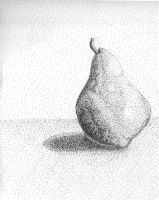 Stippled Pear by laurichg